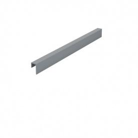 Планка J-trim VOX KERRAFRONT FS-251 графит 3 м