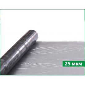 Пленка мульчирующая Sotrafa 25 мкм 1,2х1000 м серебристо-черная