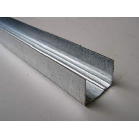 Профиль для гипсокартона UD 27/4 м 0,45 мм