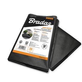 Агроволокно BRADAS 50 г/м2 1,6x10 м чорне AWB5016010
