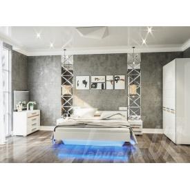 Спальний гарнітур Світ меблів Б'янко