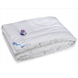Одеяло Руно искусственный лебяжий пух полуторное 140x205 см микрофибра 650 г