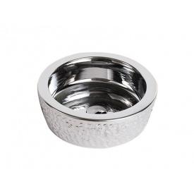 Раковина NEWARC (5065CR) накладна, ∅ 420 мм, колір срібло