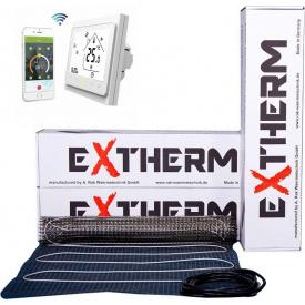 Теплый пол в плиточный клей Extherm ETL-300-200 /3м2/ с сенсорным WiFi терморегулятором Castle twe 002