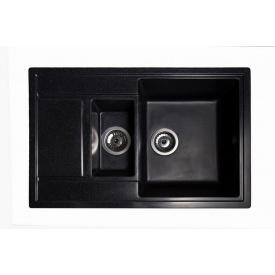 Кухонная Мойка Гранитная Galati Jorum 78D Antracit 901 Антрацит
