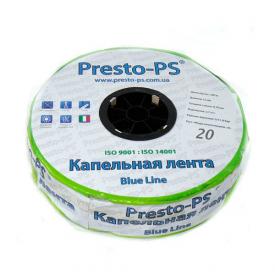 Капельная лента Presto-PS щелевая Blue Line для расхода воды 2,4 л/ч 500 м (BL-20-500)