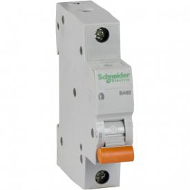 Автоматический выключатель ВА63 1П 16A C 4,5 кА