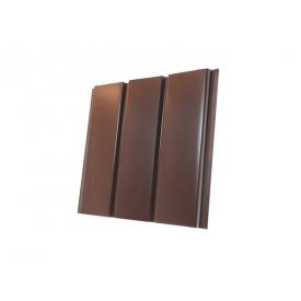 Панель Термастил коричневая без перфорации