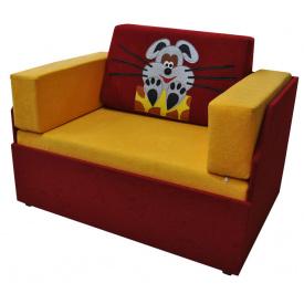 Маленький диванчик Ribeka Мышка Сливовый (08M06)