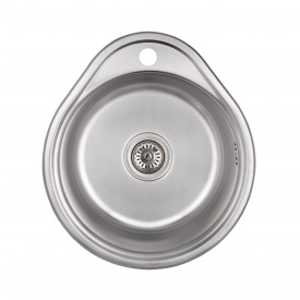 Кухонная мойка Lidz 4843 0,8 мм Decor (LIDZ4843DEC)