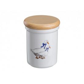 Банка для харчових продуктів Cesky porcelan dubi Гуси 12х9 см 606-519
