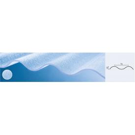 Прозрачный поликарбонатный шифер Roeber текстурированный волна