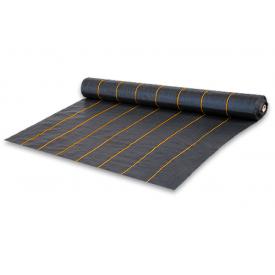 Агроткань проти бур'янів BRADAS чорна UV 90 гр/м2 1,1x100 м, AT9411100