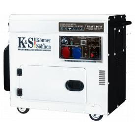 Генератор дизельный Konner&Sohnen KS 9200HDES-1/3 ATSR
