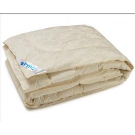 Одеяло шерстяное Руно евро двуспальное молочное 200x220 см