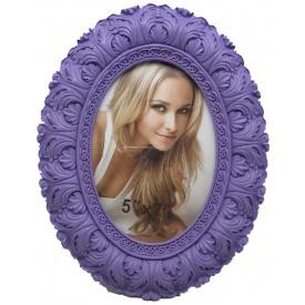 Овальна щітка Angel Gifts 13х18 см фіолетова (LF09541-157E)
