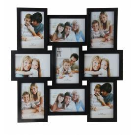 Мультирамка для фото Angel Gifts 9 в 1 чорна (BIN-112205)