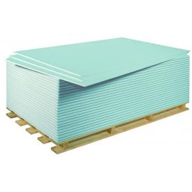 Гипсокартон KNAUF 9,5х1200х2500 мм потолочный влагостойкий