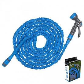 Растягивающийся шланг Bradas TRICK HOSE 5-15 м синий (WTH515BL)