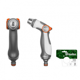 Пистолет для полива регулируемый BRADAS SMOOTH CONTROL WHITE LINE (WL-EN54M)