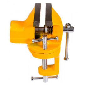 Тиски слесарные MASTER TOOL поворотные мини 50мм (07-0201)