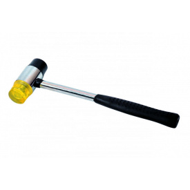 Молоток жестянщика MASTER TOOL резина/пластик 35мм (02-0330)