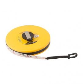 Рулетка MASTER TOOL 30мx13мм, полотно из стекловолокна (69-3013)