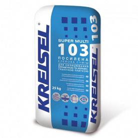 Клеевая смесь для плитки усиленная Kreisel 103 25кг