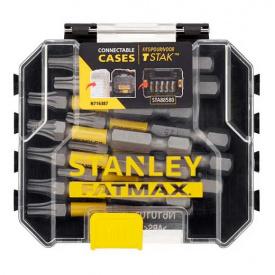 Набор бит STANLEY FatMax Torx, T25, 50 мм, 10 шт пластиковый кейс (STA88575)
