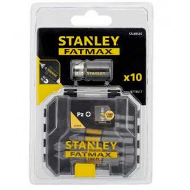 Набор бит STANLEY FatMax Pozidriv 50 мм, 10 шт пластиковый кейс (STA88565)