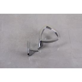 Мебельный крючок Falso Stile KK-16 двойной - хром глянцевый