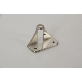 Адаптер АК-9 Falso Stile для крепления мебельной ручки на складные фасады из алюминиевых фасадных профилей никель