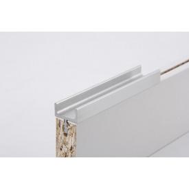 Меблева ручка профільна врізна Н 1 для ДСП 18 мм 5,95 м алюміній Brush