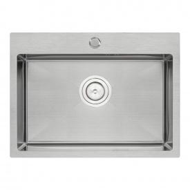 Кухонная мойка Qtap D5843 2.7/1.0 мм Satin (QTD584310)