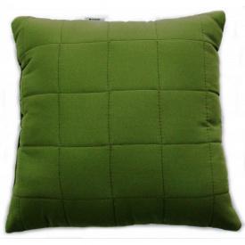 Подушка декоративна Руно зелена 40x40 см