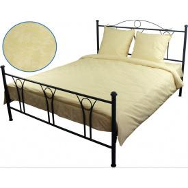 Комплект постельного белья Руно бязь Молочный двуспальный