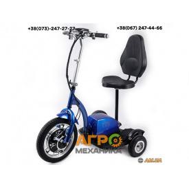 Электросамокат с сиденьем T06-2 48v500W 12AH - SM (синий)