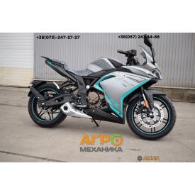 Мотоцикл VOGE 300RR (Loncin LX300GS GP300) инжектор+ ABS серый