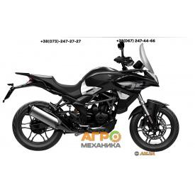 Мотоцикл VOGE 300DS DS6 (LONCIN LX300DS) 2021 инжектор+ABS (черный)
