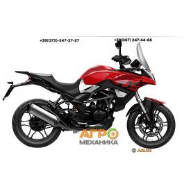 Мотоцикл VOGE 300DS DS6 (LONCIN LX300DS) 2021 инжектор+ABS (красный)