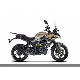 Мотоцикл VOGE 300DS DS6 (LONCIN LX300DS) 2021 инжектор+ABS (бежевый)