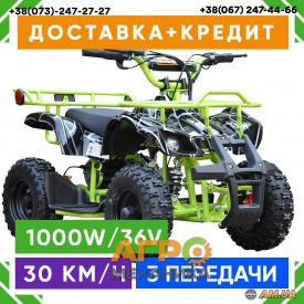 Электроквадроцикл Viper-Crosser EATV 90505 Spider New 1000W/36V (зеленый)