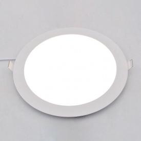 Точечный светодиодный светильник Down Light 24W круг 4500К