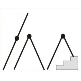 Драбина телескопічна SVELT SERAFINA MIX 10+10 сходинок