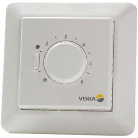 Механічний Терморегулятор для теплої підлоги Veria Control В45 (датчик підлоги)