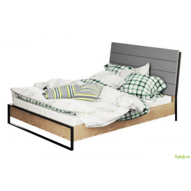 Ліжко 2-сп 1.6 (б/матрацу та каркасу) Лофт Світ Меблів
