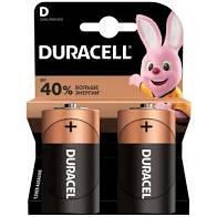 Батарейки DURACELL D LR20 MN1300 KPN 02х10 упаковка 2 шт