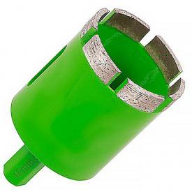 Свердла алмазні Distar самки 46x80-6x12 для свердління граніту з водяним охолодженням і хвостовик під дриль