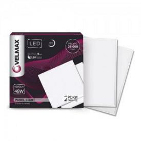 LED светильник VELMAX V-UPS 48W панель 595х595mm 6200K 4200Lm с блоком питания