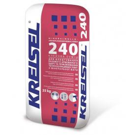 Суміш для приклеювання та армування мінераловатних плит Kreisel 240, 25 кг